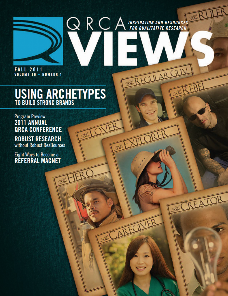 WRCA Views - Using Archetypes to Build Strong Brands