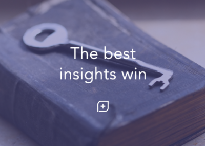 The best insights win